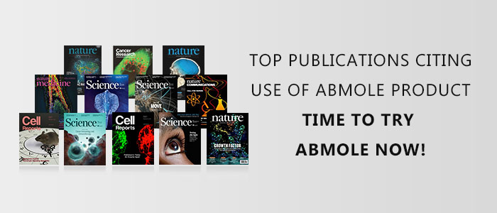 AbMole products have been cited in many studies from top scientific journals
