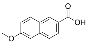 6-Methoxy-2-naphthoic acid Structure