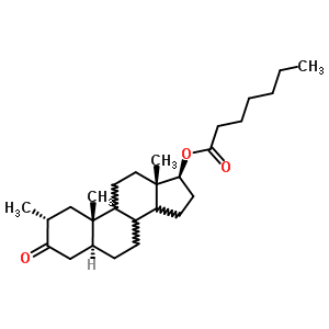 Drostanolone Enanthate Structure