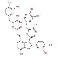 Salvianolic-acid-B Structure