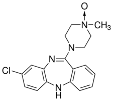 Clozapine N-oxide Structure